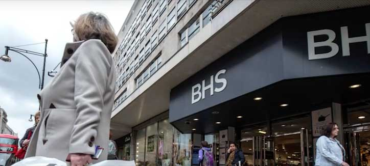 MPs Are Calling For Tighter Regulation In The Wake Of  The BHS Collapse