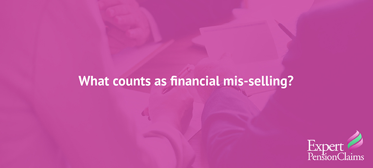 What Counts as Financial Mis-selling?