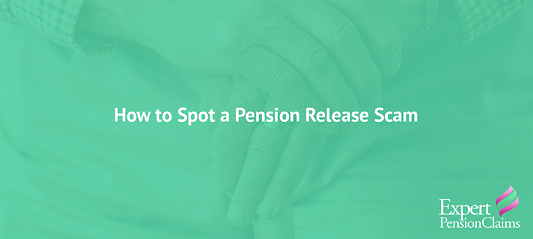 How to spot a pension release scam