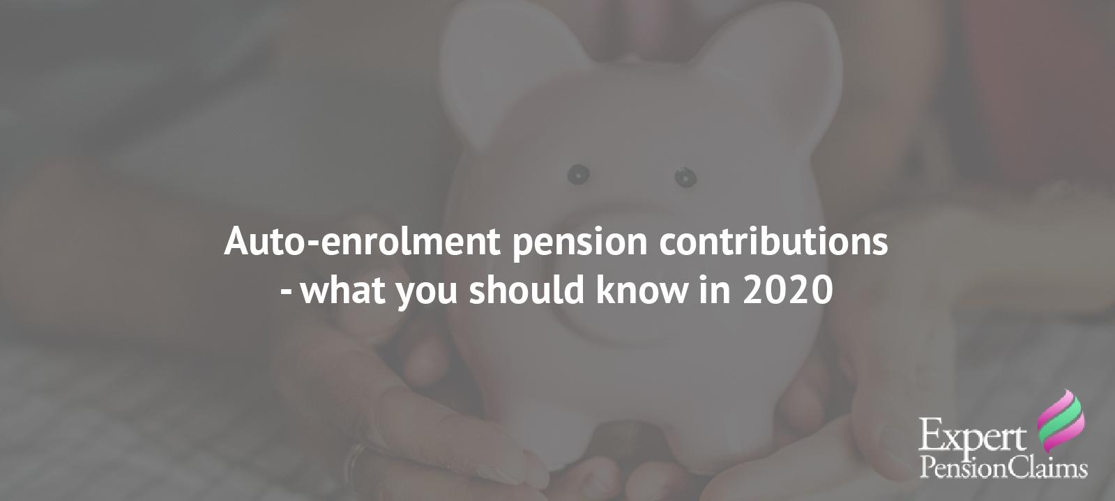 auto-enrollment pensions banner