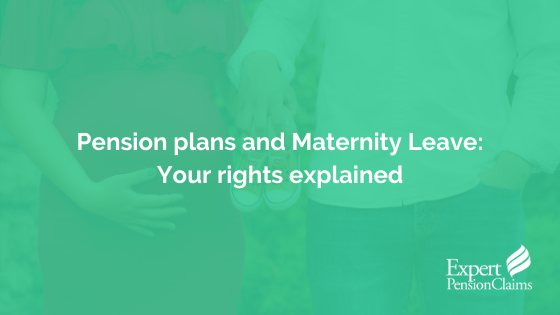 Pension contributions and maternity leave: your rights explained