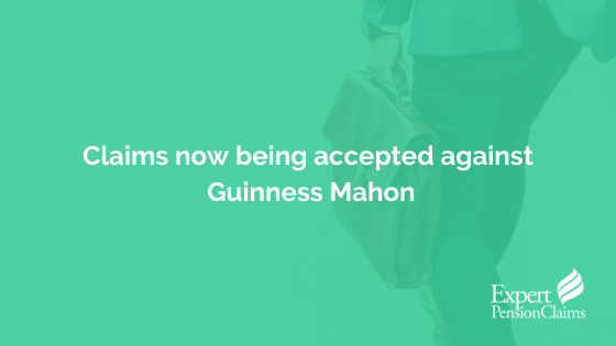 Claims now being accepted against Guinness Mahon