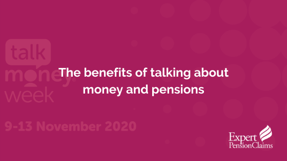The benefits of talking about money and pensions