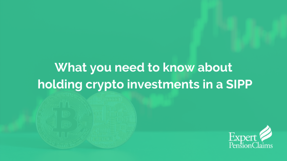 What you need to know about holding crypto investments in a SIPP